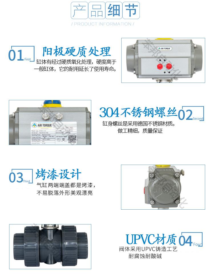 AIRTORQUE气动PVC/UPVC球阀