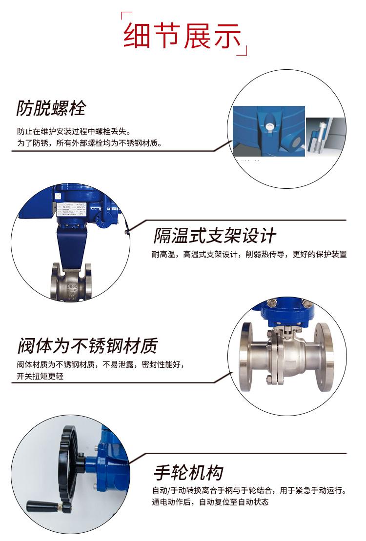 i-Tork电动高温调节阀/法兰V型球阀