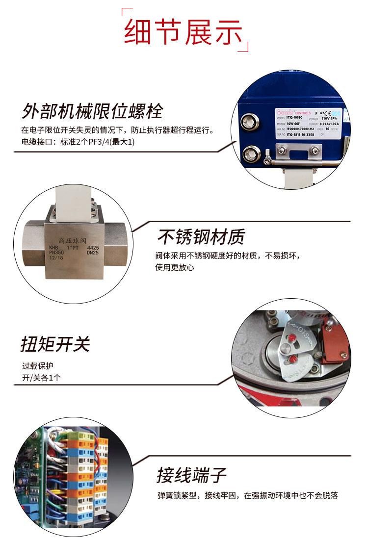 i-Tork电动高压球阀